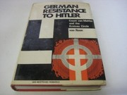Cover of: German resistance to Hitler