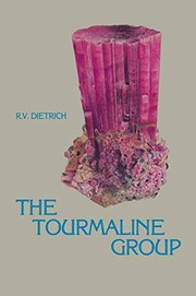 Cover of: The tourmaline group