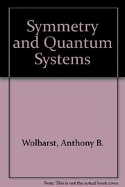 Cover of: Symmetry and quantum systems