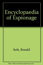 Cover of: Encyclopedia of espionage. | Ronald Seth