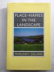 Cover of: Place-names in the landscape | Margaret Gelling