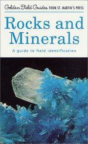 Cover of: Rocks and Minerals by Charles A. Sorrell