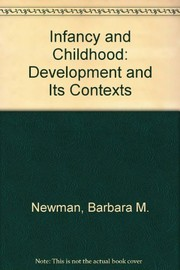 Cover of: Infancy & childhood