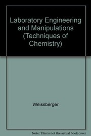 Cover of: Laboratory engineering and manipulations