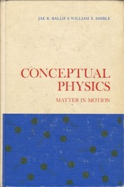 Cover of: Conceptual physics