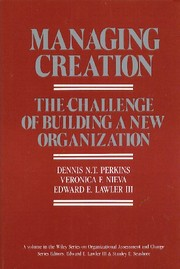 Cover of: Managing creation