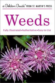 Cover of: Weeds (A Golden Guide from St. Martin