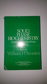 Cover of: Solid phase biochemistry |