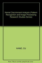 Cover of: Kernel discriminant analysis | D. J. Hand