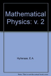 Cover of: Mathematical and theoretical physics | Egil A. Hylleraas