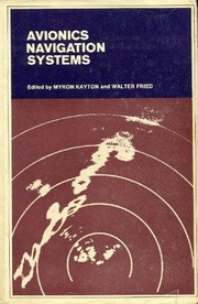 Cover of: Avionics navigation systems. |