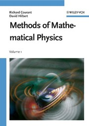 Cover of: Methods of Mathematical Physics, Vol. 1