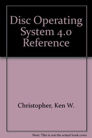 Cover of: DOS 4.0 reference | Ken W. Christopher