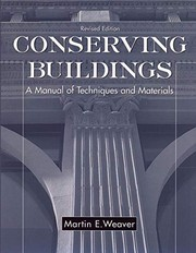 Conserving buildings