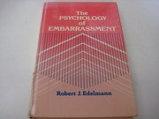Cover of: The psychology of embarrassment | Robert J. Edelmann