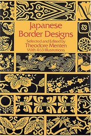Cover of: Japanese border designs |