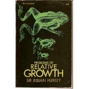 Cover of: Problems of relative growth