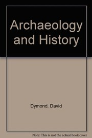 Cover of: Archaeology and history