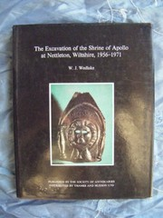 Cover of: The excavation of the Shrine of Apollo at Nettleton, Wiltshire, 1956-1971