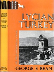 Cover of: Lycian Turkey