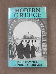 Cover of: Modern Greece | John Kennedy Campbell