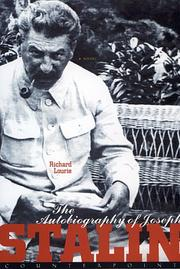 Cover of: The autobiography of Joseph Stalin