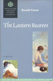 Cover of: The lantern bearers | Ronald Frame