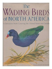 Cover of: The wading birds of North America (north of Mexico) | Allan W. Eckert