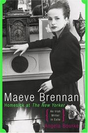 Cover of: Maeve Brennan