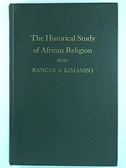 Cover of: The historical study of African religion |