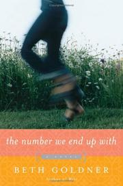 Cover of: The number we end up with | Beth Goldner