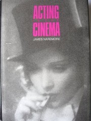 Cover of: Acting in the cinema