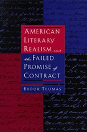 Cover of: American Literary Realism and the Failed Promise of Contract