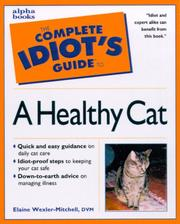 Cover of: The complete idiot's guide to a healthy cat