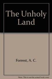 Cover of: The unholy land