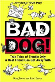 Cover of: Bad dog!