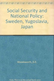 Cover of: Social security and national policy