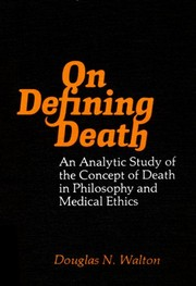 Cover of: On defining death