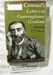 Cover of: Joseph Conrad's letters to R. B. Cunninghame Graham
