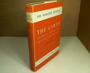 Cover of: The earth | Harold Jeffreys