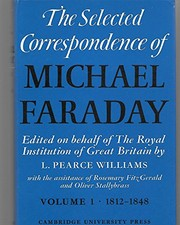 Cover of: The selected correspondence of Michael Faraday