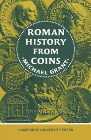 Cover of: Roman history from coins