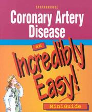 Cover of: Coronary Artery Disease