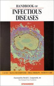 Cover of: Handbook of Infectious Diseases