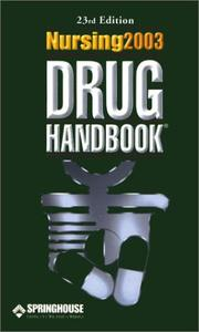 Cover of: Nursing 2003 Drug Handbook