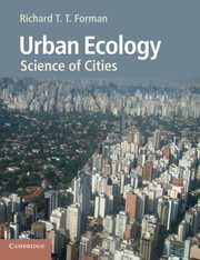 Cover of: Urban Ecology: Science Of Cities