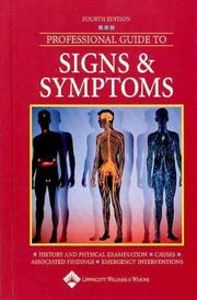 Cover of: Professional Guide to Signs and Symptoms