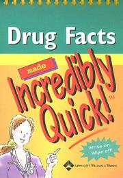 Cover of: Drug Facts Made Incredibly Quick!