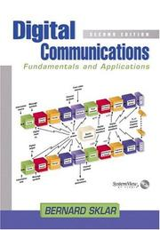 Cover of: Digital communications | Bernard Sklar
