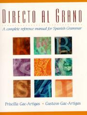 Cover of: Directo al grano